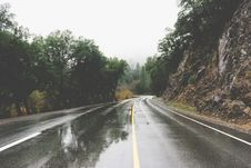 Free Wet Road Royalty Free Stock Image - 83076486