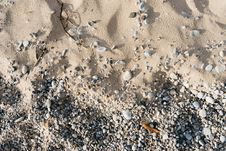 Free Pebbles And Sand Stock Photo - 83076610