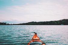 Free Kayak On Lake Stock Image - 83076621