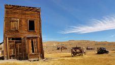 Free Abandoned Wooden House Stock Image - 83076801