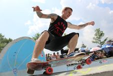 Free Skateboarder  Royalty Free Stock Image - 83076896