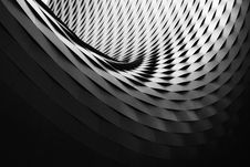 Free Abstract Curved Architecture Royalty Free Stock Photos - 83076928