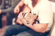 Free Guitar Player Royalty Free Stock Image - 83077106