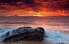 Free Beach Sunset Stock Photo - 83077200
