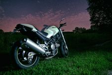 Free Motorbike On Grass Stock Images - 83077334