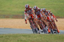 Free 4 Men At Road During Daytime Performing Road Bike Racing Royalty Free Stock Photography - 83077357