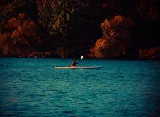 Free Kayak On The Lake Royalty Free Stock Photo - 83077705
