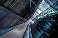Free Blue And Clear Glass High Rise Building Royalty Free Stock Photos - 83077838