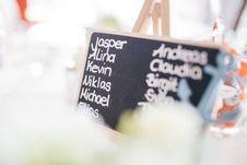 Free Jasper Alina Kevin Niklas Write On Chalkboard Stock Photography - 83078032