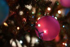 Free Close-up Of Christmas Tree At Night Stock Photo - 83078110