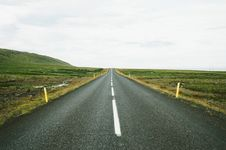 Free Straight Road In The Countryside Stock Photos - 83078133