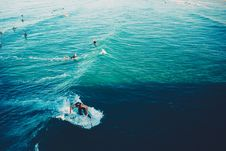 Free Surfers And Swimmers Stock Images - 83078184