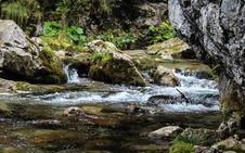 Free Stream In The Mountains Royalty Free Stock Images - 83078209