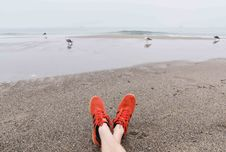 Free Relaxing On The Beach Stock Photo - 83078420