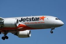 Free Jetstar All Day, Every Day, Low Fares. Stock Image - 83078421