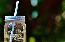 Free Country Style Glass Mason Jar Royalty Free Stock Photos - 83078588
