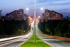 Free Grey Lamp Port Between Grey Concrete Road Stock Image - 83078741