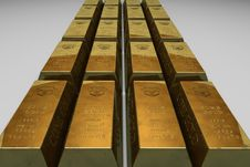 Free Shallow Focus Photo Of Gold Bars Stock Photo - 83079360