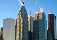 Free High Rise Buildings Royalty Free Stock Image - 83079386