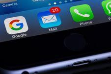Free Gray Smartphone Royalty Free Stock Image - 83079606