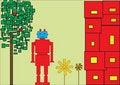 Free Red Robot Stock Photos - 8314903