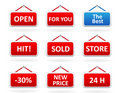 Free Stickers Royalty Free Stock Photo - 8315565