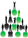 Free Business Silhouettes Stock Photos - 8317283