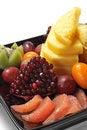 Free Fruit Plate Royalty Free Stock Image - 8318296