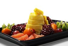Free Fruit Plate Stock Photo - 8310070