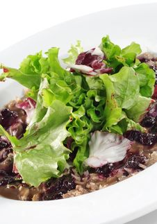 Breast Of Duck Salad Royalty Free Stock Image