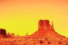 Free Monument Valley Sunrise Stock Images - 8310504