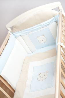 Free Close-up Of A Crib Royalty Free Stock Photos - 8310608