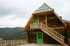 Free Serbian Mountain House Stock Photography - 8313692