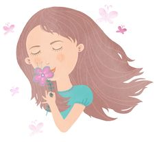 Free Smelling Flower Stock Photo - 8313830