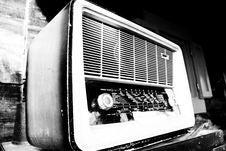 Old Radio Royalty Free Stock Photos