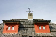 Free Serbian Mountain House Stock Photography - 8314322