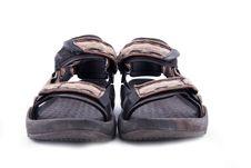 Summer Hiking Shoe Royalty Free Stock Image