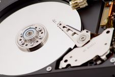 Free A Close Up Of A Hard Disk Stock Photos - 8314523