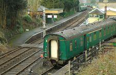 Train Restoration Stock Photography