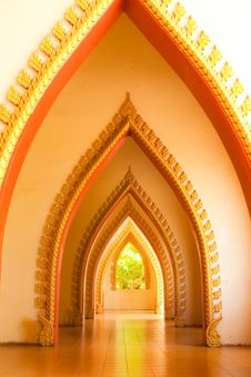 Arc Of Church. Royalty Free Stock Image