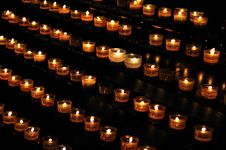 Free Candle Lights Royalty Free Stock Image - 8316026