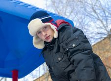 Free Blue-eyed Boy Stock Image - 8316261