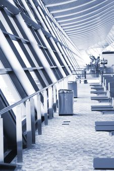Free Airport Lounge Royalty Free Stock Image - 8316566