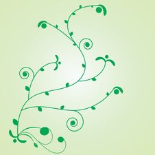 Free Floral Vector Element For Design. Royalty Free Stock Images - 8316669