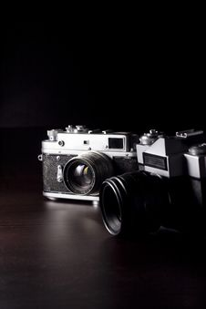 Free 35mm Slr Camera Stock Photography - 8317142