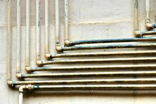Old Pipes Royalty Free Stock Photos