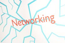 Free Screenshot Of A Presentation: Networking Stock Photo - 8317420