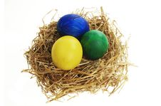 Free Painted Eggs Royalty Free Stock Images - 8317629