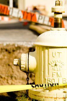 Free Plumbing Work Site Royalty Free Stock Images - 8317829