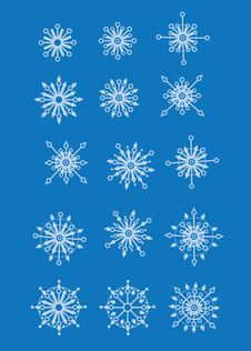 Free Snowflakes Royalty Free Stock Images - 8318839